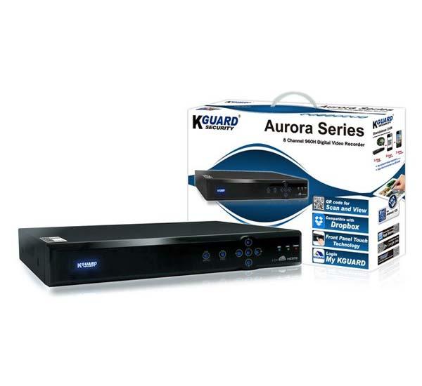 AURORA SERIES-STANDALONE DVR AR821 WITH 1,000 GB HDD